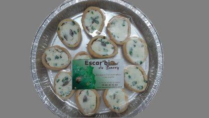 Croquilles au fromage de chèvre et ciboulette Escar'bio du Berry © du Centre