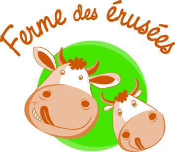 Logo de la ferme des érusées © du Centre