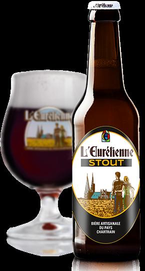 Bouteille et verre de bière l Eurelienne © du Centre