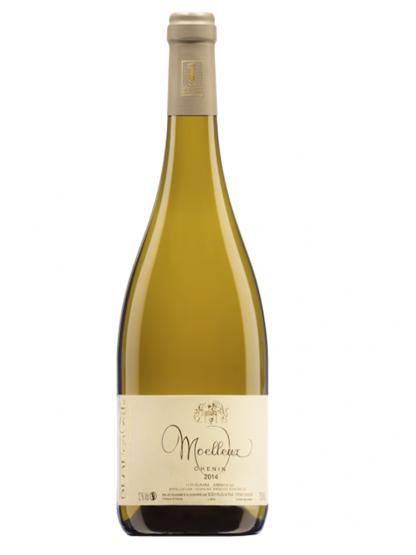 Bouteille de vin blanc Le Moelleux AOC Touraine Amboise © du Centre