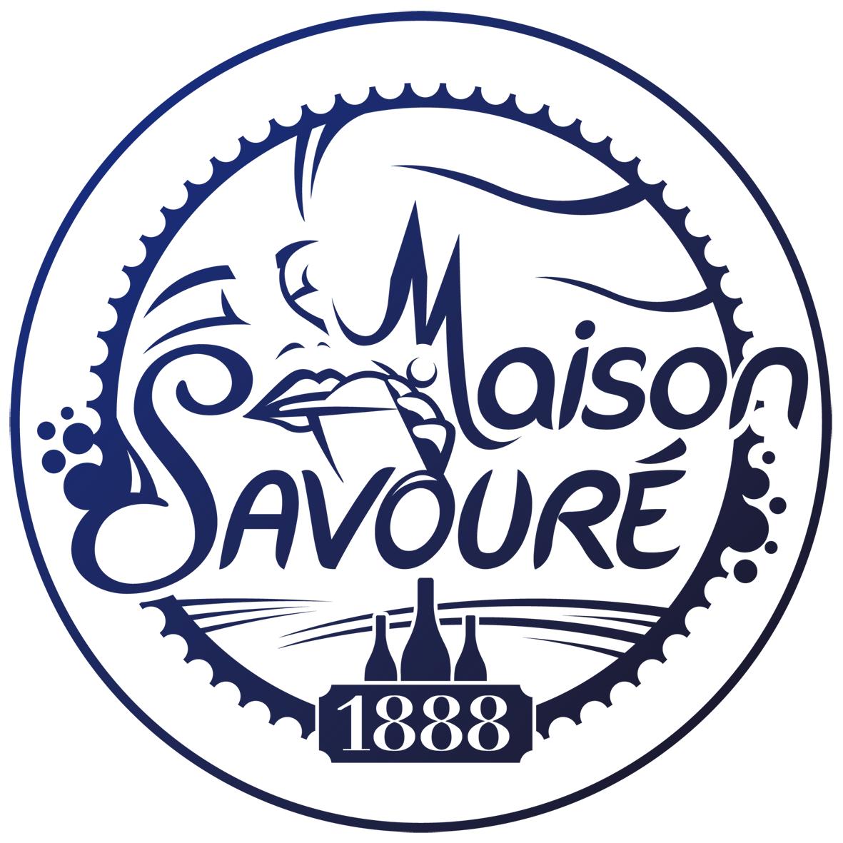 Logo maison savouré