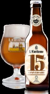 Bouteille de bière Eurélienne 15 ans © du Centre