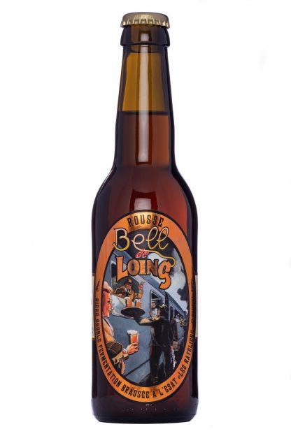 Bouteille de bière Bell'de Loing rousse 33 cl © du Centre