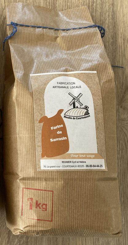 Sachet de farine de sarrasin © du Cntre