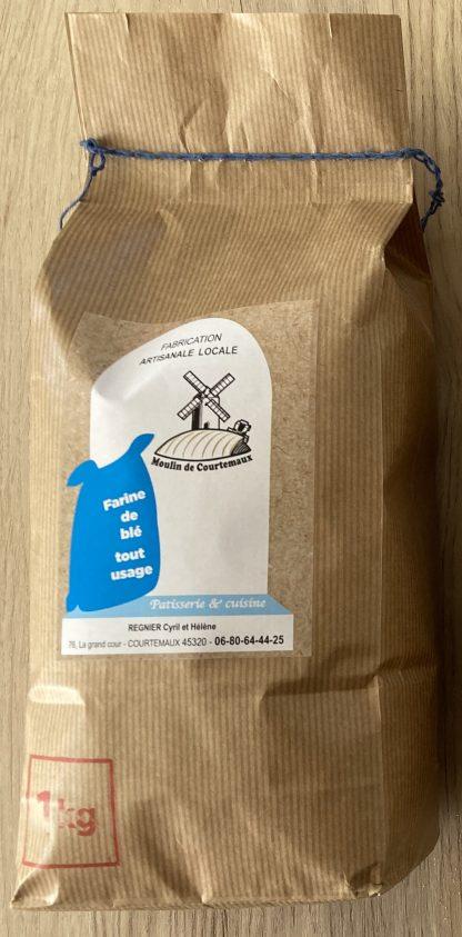 Sachet de farine de blé tout usage © du Centre