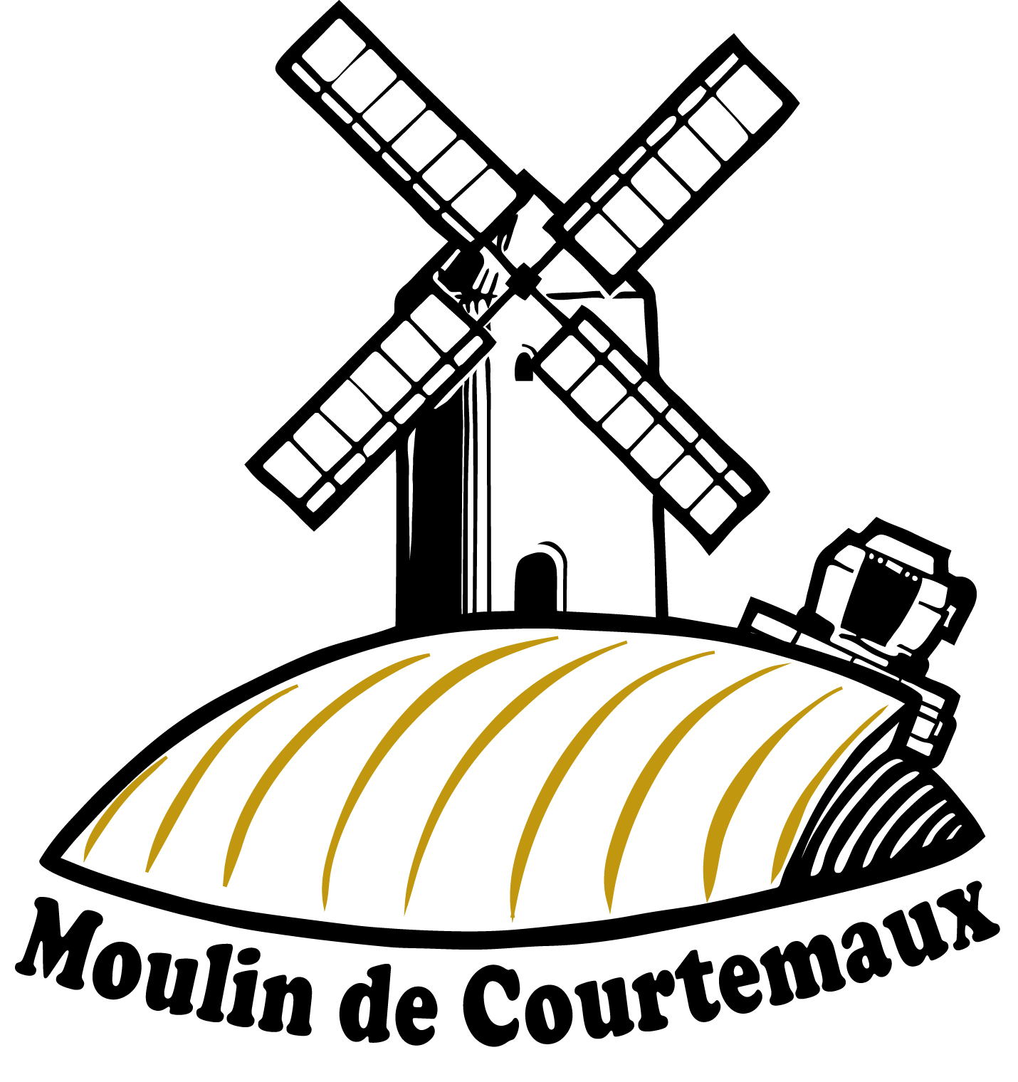 Logo Moulin de Courtemaux